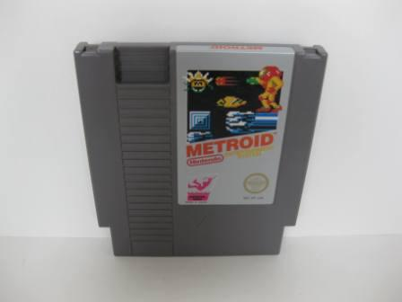 Metroid (Silver Label) - NES Game